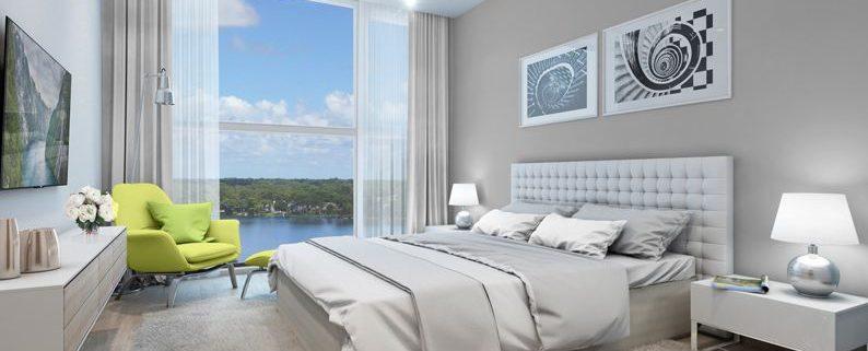 phòng ngủ master vinhomes green bay
